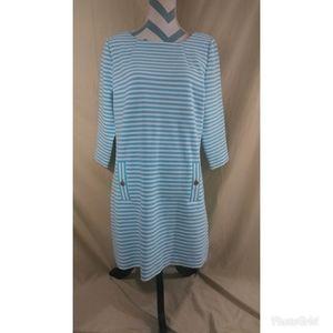 Lilly Pulitzer XL Charlene Ottoman Shift Dress